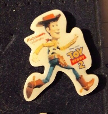 Original Mcdonald Mcdonald MCDPIN Badge  - Sheri Woody / Running  /  Toy Story 2