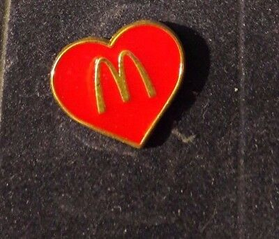 Original Mcdonald Mcdonald MCDPIN Badge -  Mc Donald´s Herz