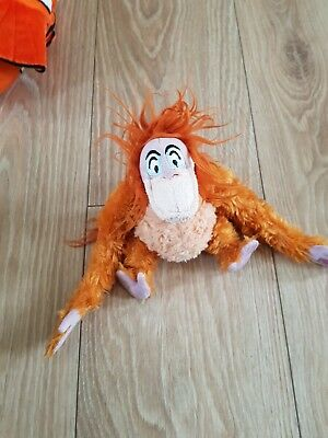 Disney jungle book King Louie small soft toy Aprox 18cm
