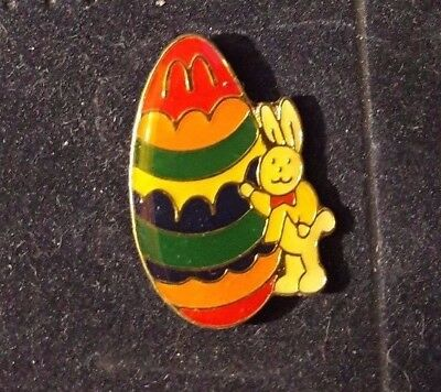 Original Mcdonald Mcdonald MCDPIN Badge -  Mc Donald´s Ei mit Hase