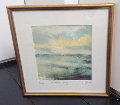 Brighton Artist Lilli Jameson Limited Edition Pastel Painting Picture 'Wintersea