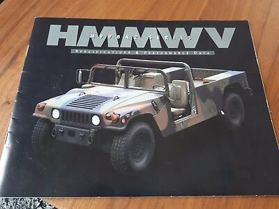 HMMWV M998 A2 Series  Specifications & Performance Data