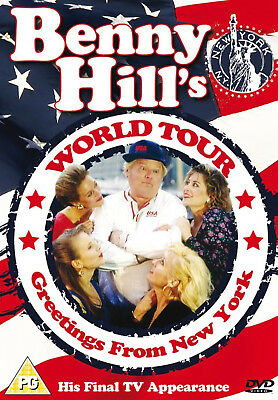 Benny Hill's World Tour New Dvd Greetings From New York His Final Tv Appearance