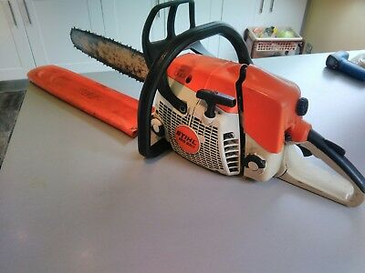 Stihl ms280i chainsaw RUNNING Spares or Repairs.