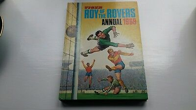 Tiger Roy Of The Rovers Annual 1969