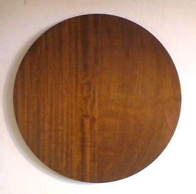 BOB FRENCH Vintage Turned Wood Large Platter/Tray 42.5cm. Woodturner 1980's
