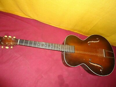 Vintage 1940's- 50's? Kay Archtop Hollow Body Guitar Project As Is! U Fix!