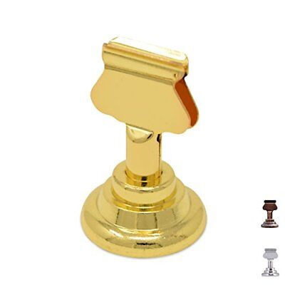 GrayBunny GB-6810B Place Card Holder 12   Gold Table Menu Harp-Clip Number