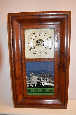 Antique Brewster And Ingrahams American Ogee Clock