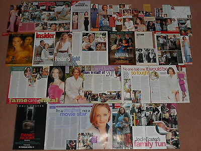 45+ JODIE FOSTER Magazine Clippings (B)