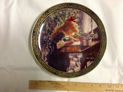 """Dear Santa"" Reco Plate By Sandra Kuck (signed) Limited Edition"