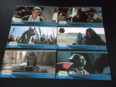 """STAR WARS""..mega rare!!!...collectors CARDS/ cartes de collection..WIDEVISION"