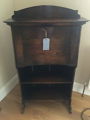 Antique Cottage Arts and Crafts Writing Desk