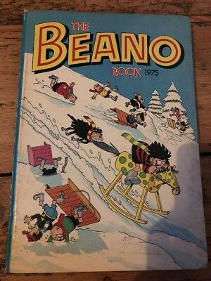 Beano Book Annual 1975 Christmas Birthday Anniversary