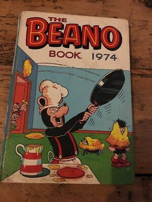 Beano Book Annual 1974 Christmas Birthday Anniversary