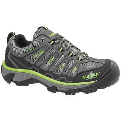 Work Boots,Men,10-1/2M,Lace Up,Gray,PR NAUTILUS SAFETY FOOTWEAR N2208