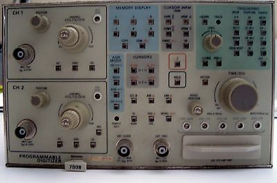 Tektronix 7D20 Programmable Plug-In Digitizer Module For Oscilloscope & Manuals