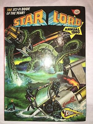 Star Lord Annual 1980 a 2000 AD Production by Fleetway Publications