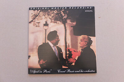 Count Basie April in Paris MFSL 1-237 Anadisc 200 Special Limited Edition