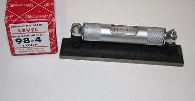 "Starrett Machinist Level 4"" No. 98-4 (with box)."