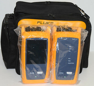 NEW Fluke DSX-5000 OFP-CFP-QI 1GHz DSX Cable Analyzer (2 CFP QUAD & 1 OFP QUAD)