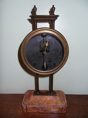 Antique mystery gravity clock to restore