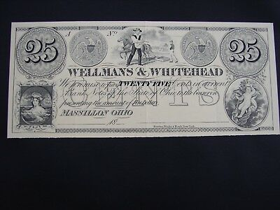 American Bank Note Co. Historic U.S. Currency Wellmans & Whitehead