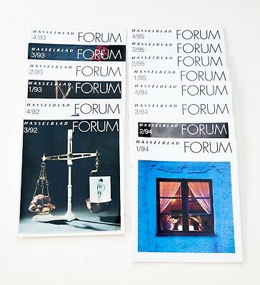 Hasselblad Forum magazines from 3/92 to 4/95. Used in VGC.