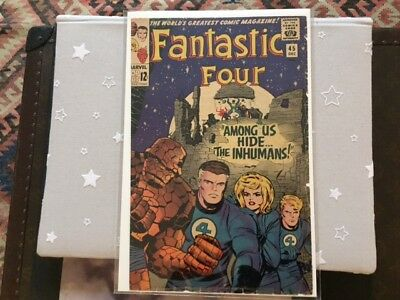 Fantastic Four 45 Inhumans Just Front Page Cover