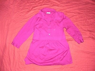 Old Navy Maternity Purple Blouse Top Shirt Small S
