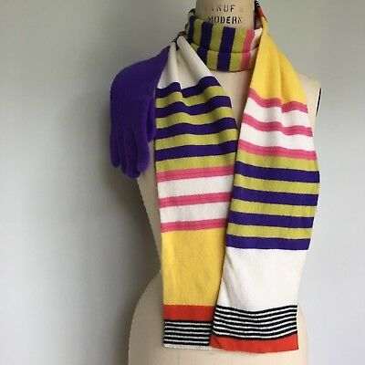 Lot of 2 J Crew Wool Scarf and gloves NWOT and NWT
