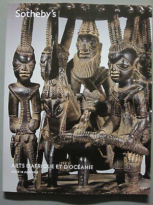 Sotheby 6/18/13 antique Tribal African & Oceania figures, shields, weapons