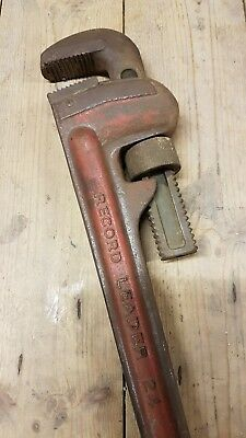 Record Leader 24 Pipe Wrench