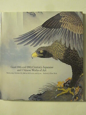Sotheby 10/29/80 Japanese & Chinese ceramics, carvings, textiles, cloisonne, jad