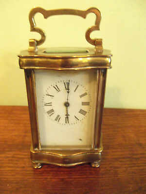 Brass Carriage clock to restore / parts