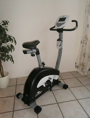 sportstech profi indoor cycle heimtrainer ergometer. Black Bedroom Furniture Sets. Home Design Ideas