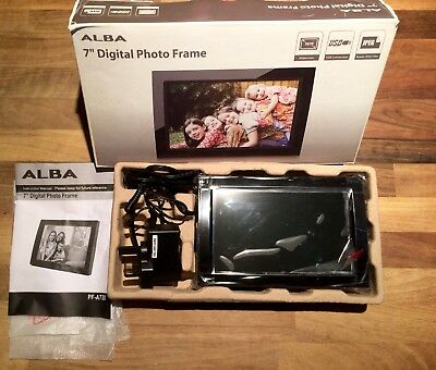 "Bnib Alba 7"" Digital Photo Frame - Family Memories Keepsake Xmas Gift?"