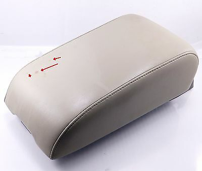 Fits 02-04 Nissan Altima Synthetic Leather Armrest Center Console Cover Beige