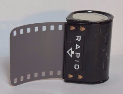 Agfa Rapid Cassette, G code, reloaded with in date 35mm ilford 100 Delta