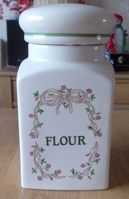 Eternal Beau Ceramic Flour Jar In Excellent Condition