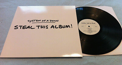 System Of A Down -- Steal This Album  -- LP, vinyl, scars on broadway, slipknot