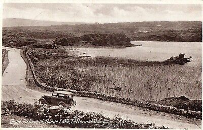 Trout Fishing At Toome Lake Lettermacaward Donegal Ireland S R Butler Postcard