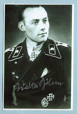 Spähtrupp-Führer & Knights Cross Signed Photo - Böhm
