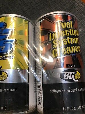 Bg Cf5 #203 Fuel System Cleaner & Fuel Injection System Cleaner #210 44K Cleans