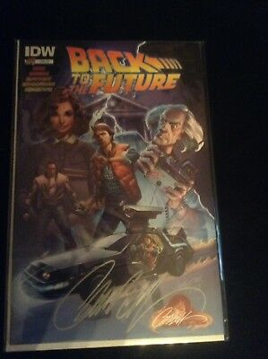 Back to the Future #1 CAMPBELL EXCLUSIVE signed J.Scott Campbell IDW NM/MT