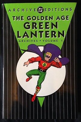 Dc Archive Editions, Golden Age Green Lantern Volume 1. Rare Book. No Reserve.