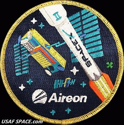 ORIGINAL Aireon -Iridium NEXT 2 - SPACEX FALCON 9 Launch SATELLITE Mission PATCH