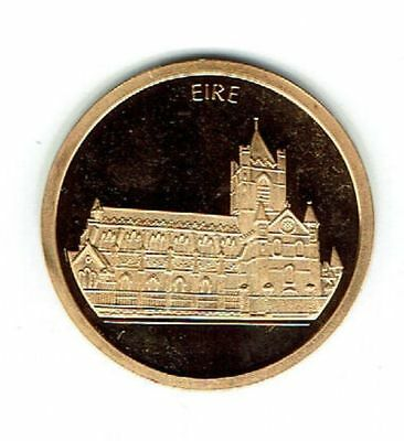 Eire-Ireland-Irland - 1996 Gold Medal / Goldmedaille Christ Church 1/10 oz