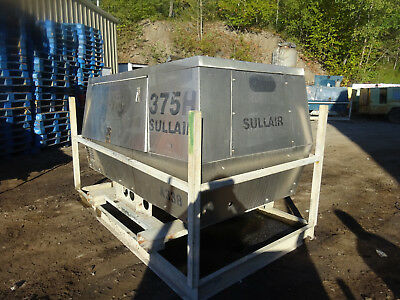 Sullair 375H Diesel Air Compressor RUNS GOOD VIDEO! 150 PSI !! 375 CFM DIESEL