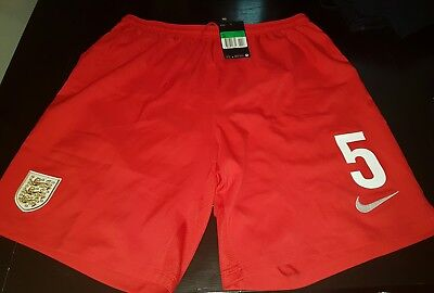 Nike England team Away Shorts Mens Challenge Red Football Soccer size XL nr 5